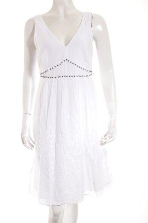Esprit Trägerkleid weiß Beach-Look