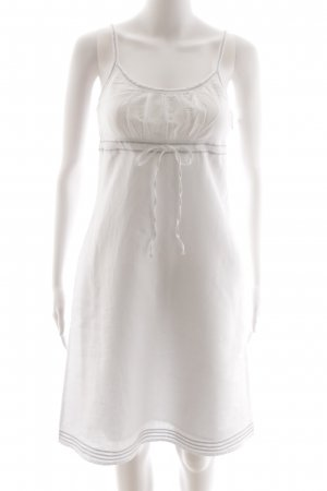 Esprit Trägerkleid weiß Casual-Look