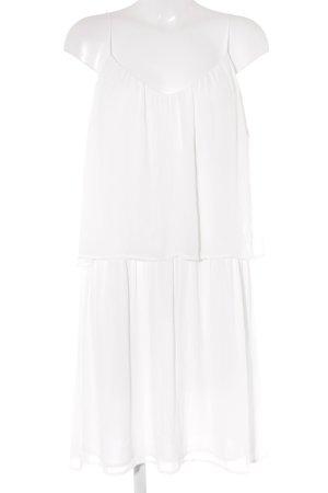 Esprit Trägerkleid weiß schlichter Stil