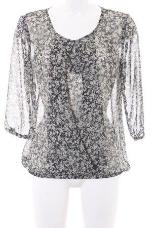 Esprit Transparante blouse bloemenprint romantische stijl