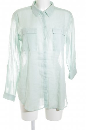 Esprit Transparenz-Bluse mint Transparenz-Optik