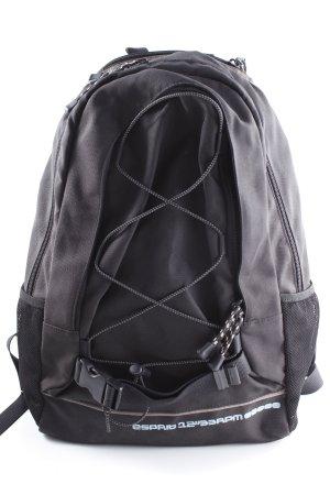 Esprit Trekking-Rucksack anthrazit sportlicher Stil
