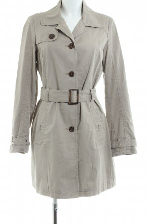 Esprit Trenchcoat hellgrau Casual-Look