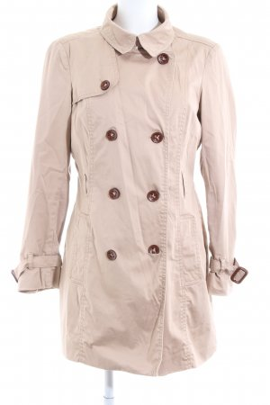 Esprit Trenchcoat creme Business-Look