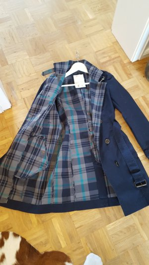 Esprit Trench Coat blue-dark blue