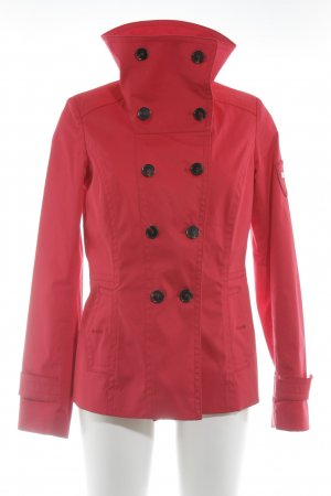 Esprit Trenchcoat rot Casual-Look