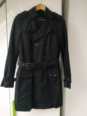 Esprit Trenchcoat schwarz 2 in 1