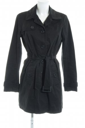 Esprit Trenchcoat schwarz Brit-Look