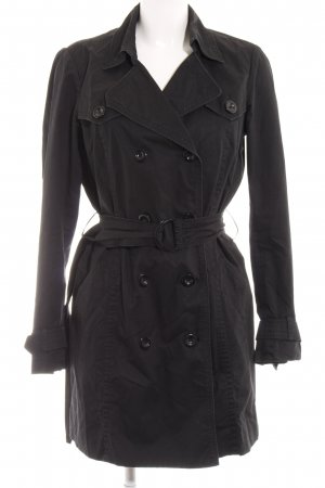 Esprit Trenchcoat schwarz Business-Look