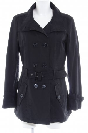 Esprit Trenchcoat schwarz Casual-Look