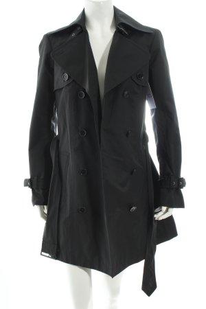 Esprit Trenchcoat schwarz klassischer Stil