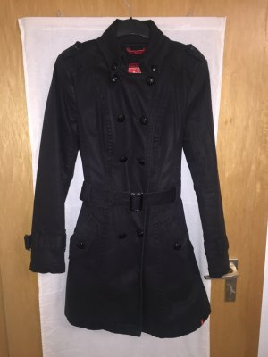 Esprit Trenchcoat schwarz Winter