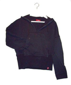 Esprit Maglione con cappuccio nero