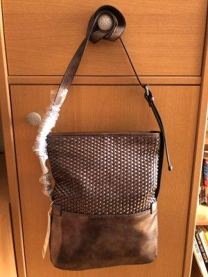 Esprit Trish Umhängetasche Handtasche bronze metallic Neu