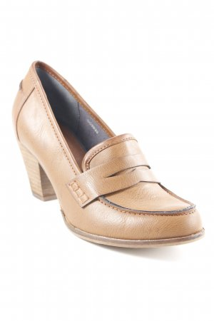 Esprit Loafer marrone-nero stile semplice