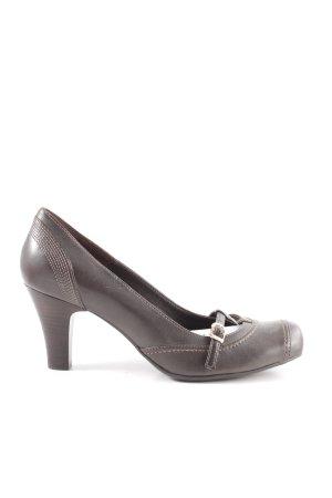 Esprit Loafers bruin casual uitstraling