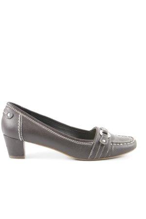 Esprit Loafers grijs-bruin casual uitstraling