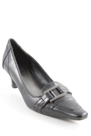 Esprit Loafers zwart zakelijke stijl