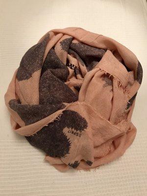 Esprit Fazzoletto da collo rosa-grigio