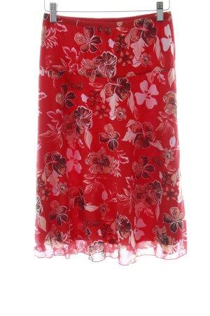 Esprit Jupe en tulle motif floral style décontracté