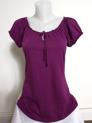 Esprit Tunika Shirt mit Puffärmelchen (Gr. L)