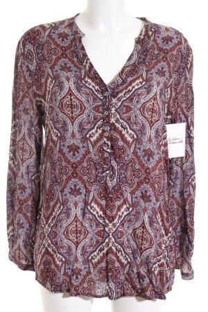 Esprit Tunikabluse abstraktes Muster Street-Fashion-Look