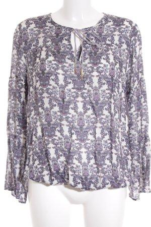 Esprit Tunikabluse florales Muster Casual-Look