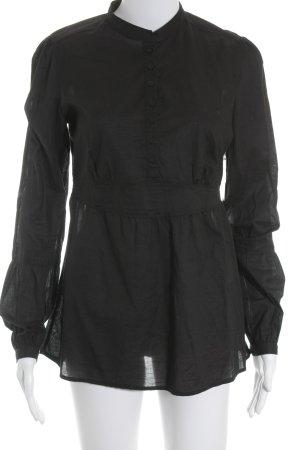 Esprit Tunikabluse schwarz minimalistischer Stil