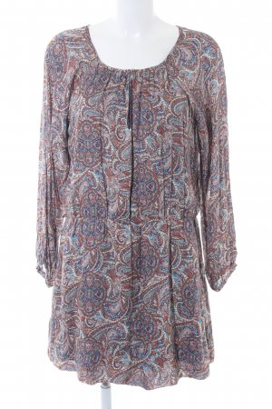 Esprit Tunikakleid abstraktes Muster Boho-Look