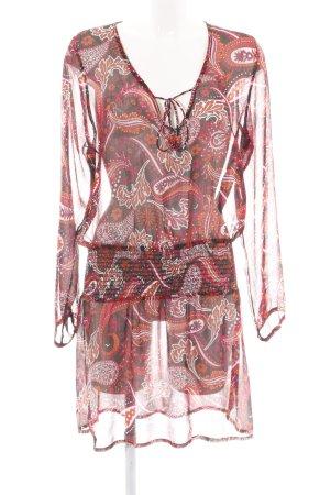 Esprit Robe tunique motif abstrait style décontracté