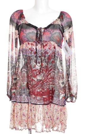 Esprit Tunikakleid florales Muster extravaganter Stil