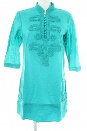 Esprit Tunic Dress turquoise casual look