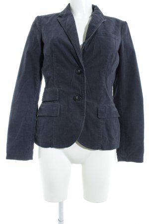 Esprit Tweed blazer donkerblauw-leigrijs Britse uitstraling