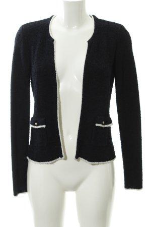 Esprit Tweedblazer dunkelblau meliert Business-Look