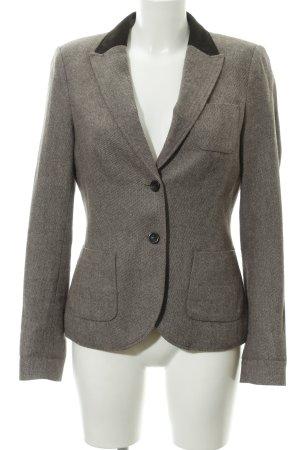 Esprit Tweedblazer dunkelbraun-wollweiß Country-Look