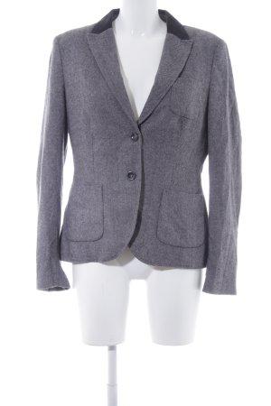 Esprit Tweedblazer grau-schwarz Webmuster Business-Look