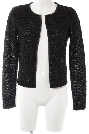 Esprit Tweed blazer zwart elegant