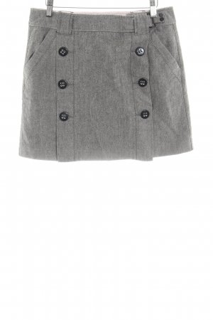 Esprit Tweed Skirt anthracite-natural white flecked casual look