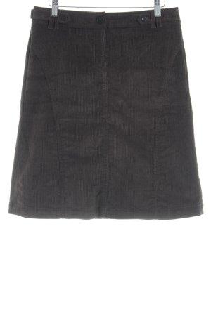 Esprit Falda Tweed marrón oscuro look retro