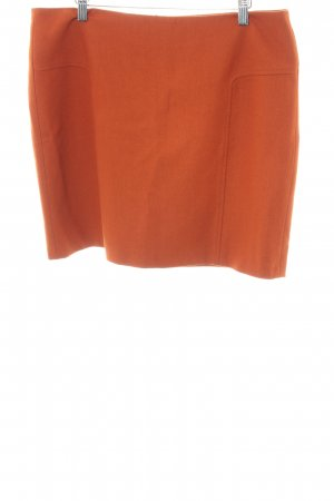 Esprit Tweedrock dunkelorange Casual-Look