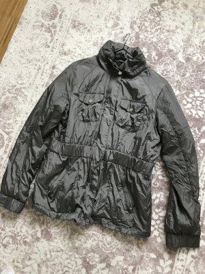 Esprit Übergangsjacke Regenjacke mit Kapuze 42 L 40 grau