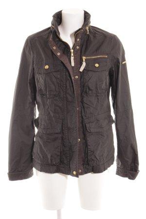 Esprit Übergangsjacke schwarz-braun Casual-Look