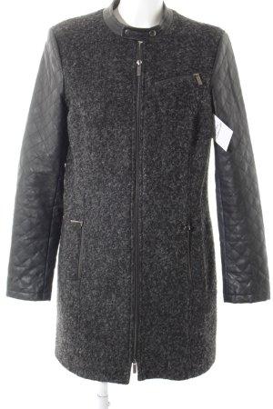 Esprit Übergangsmantel schwarz-grau Street-Fashion-Look