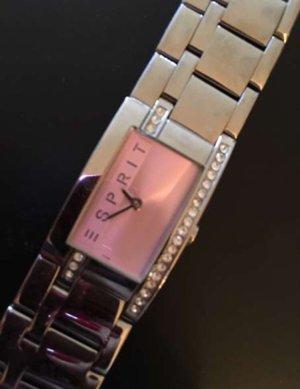Esprit Uhr Armbanduhr Damen Modell Houston rosa