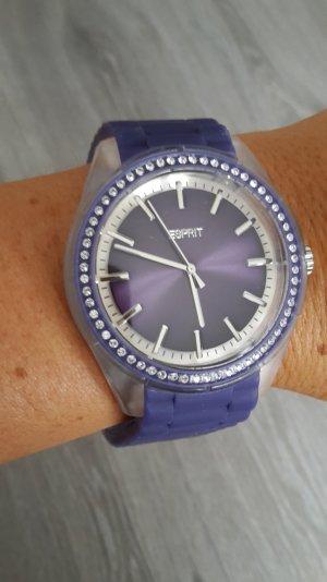 ESPRIT-Uhr, blau-lila, wasserdicht