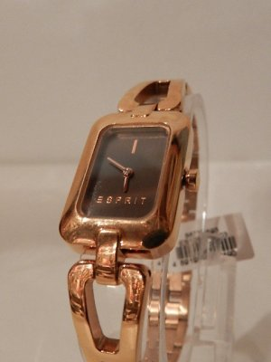 Esprit Montre analogue or rose bronze