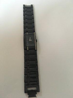 Esprit Uhr in schwarz mit kleinen Steinen