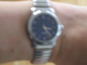 Esprit Uhr mit blauem Ziffernblatt