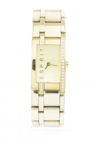 Esprit Watch With Metal Strap gold-colored casual look