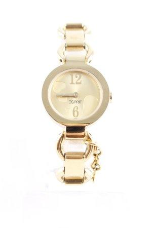 Esprit Montre avec bracelet métallique doré style mouillé
